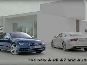 Audi A7 Commercial
