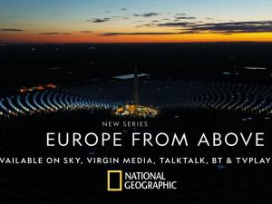 Europe from Above Spagna