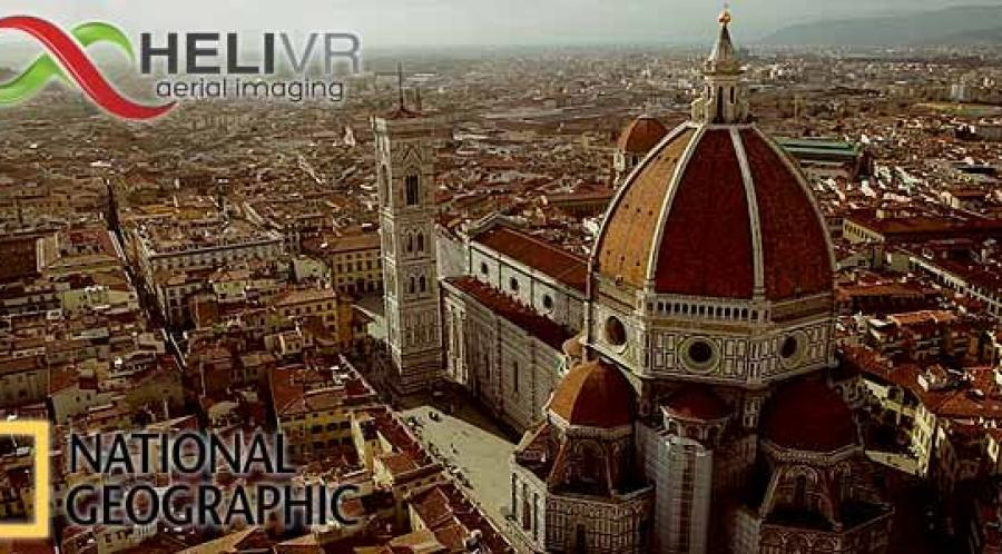 Riprese aeree Firenze per National Geographic