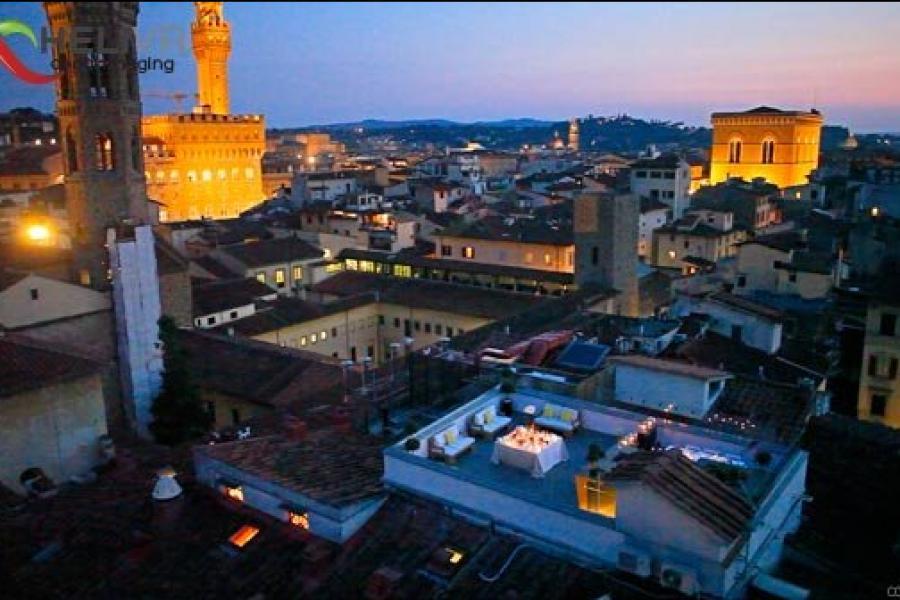 Riprese aeree Drone Firenze Grand Hotel Cavour