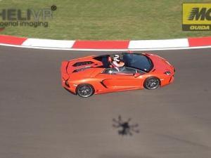 Riprese aeree Lamborghini